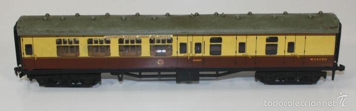 Trenes Escala: LOTE DE 3 VAGONES EN RESINA. MECCANO LTD. MADE IN ENGLAND.CIRCA 1950. - Foto 4 - 58123145
