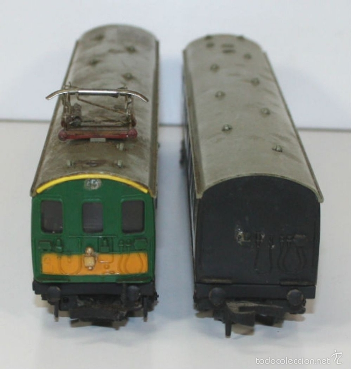 Trenes Escala: LOTE DE 3 VAGONES EN RESINA. MECCANO LTD. MADE IN ENGLAND.CIRCA 1950. - Foto 8 - 58123145