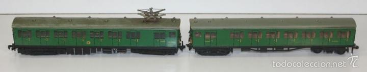 Trenes Escala: LOTE DE 3 VAGONES EN RESINA. MECCANO LTD. MADE IN ENGLAND.CIRCA 1950. - Foto 9 - 58123145