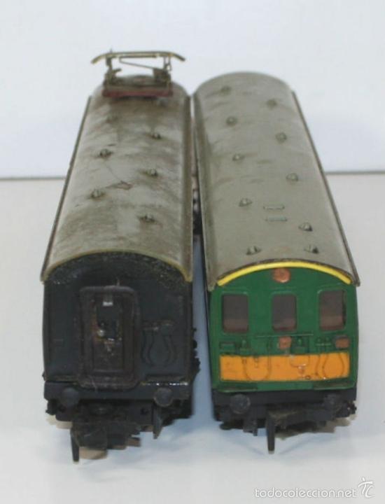 Trenes Escala: LOTE DE 3 VAGONES EN RESINA. MECCANO LTD. MADE IN ENGLAND.CIRCA 1950. - Foto 10 - 58123145
