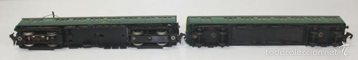 Trenes Escala: LOTE DE 3 VAGONES EN RESINA. MECCANO LTD. MADE IN ENGLAND.CIRCA 1950. - Foto 11 - 58123145