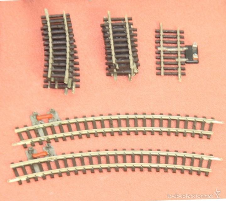 Trenes Escala: LOTE 159 DE VIAS DE TREN. VARIAS MARCAS Y ESCALAS. CIRCA 1960. - Foto 11 - 155956616