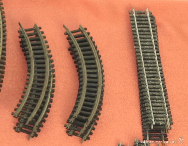 Trenes Escala: LOTE 159 DE VIAS DE TREN. VARIAS MARCAS Y ESCALAS. CIRCA 1960. - Foto 13 - 155956616
