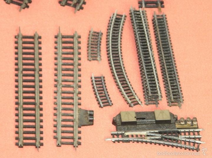 Trenes Escala: LOTE 159 DE VIAS DE TREN. VARIAS MARCAS Y ESCALAS. CIRCA 1960. - Foto 14 - 155956616
