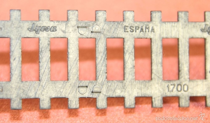 Trenes Escala: LOTE 159 DE VIAS DE TREN. VARIAS MARCAS Y ESCALAS. CIRCA 1960. - Foto 16 - 155956616