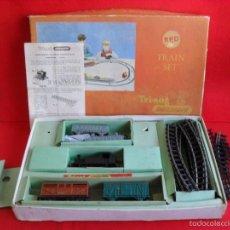 Trenes Escala: TREN,MAQUETA,CAJA MAQUINA,VAGONES,VIAS ETC TRI-ANG. Lote 59761512