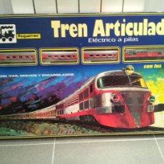 Trenes Escala: TREN ARTICULADO ELECTRICO A PILAS PEQUETREN NUEVO VER FOTOS. Lote 60586375