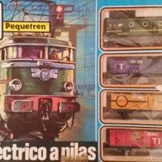 Trenes Escala: PEQUETREN DE SEINSA AÑOS 80.. Lote 60920993