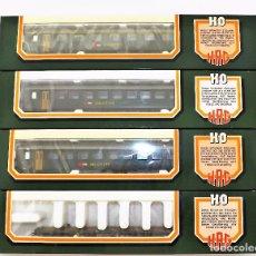 Trenes Escala: HAG COMPOSICIÓN VIAJEROS H0. Lote 62969360