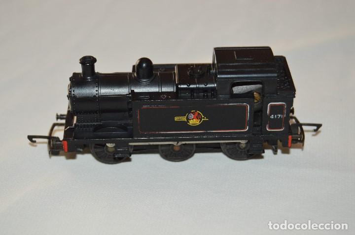 Trenes Escala: PRECIOSA LOCOMOTORA - TRIANG - BUILT IN BRITAIN - MUY ANTIGUA - ESCALA TT - FUNCIONA CORRECTAMENTE - Foto 3 - 63337196