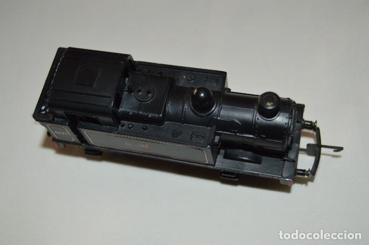 Trenes Escala: PRECIOSA LOCOMOTORA - TRIANG - BUILT IN BRITAIN - MUY ANTIGUA - ESCALA TT - FUNCIONA CORRECTAMENTE - Foto 6 - 63337196
