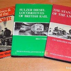 Trenes Escala: LOTE 3 LIBROS EN INGLÉS SOBRE TRENES Y FERROCARRILES. ¡AHORA MUY REBAJADO!. Lote 63618335