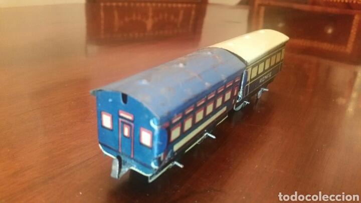 Trenes Escala: Antiguos Vagones Tren de Lata - Hojalata. - Foto 2 - 63696510