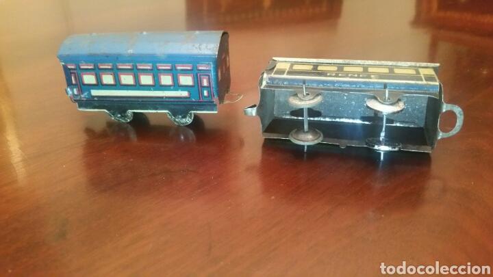 Trenes Escala: Antiguos Vagones Tren de Lata - Hojalata. - Foto 4 - 63696510