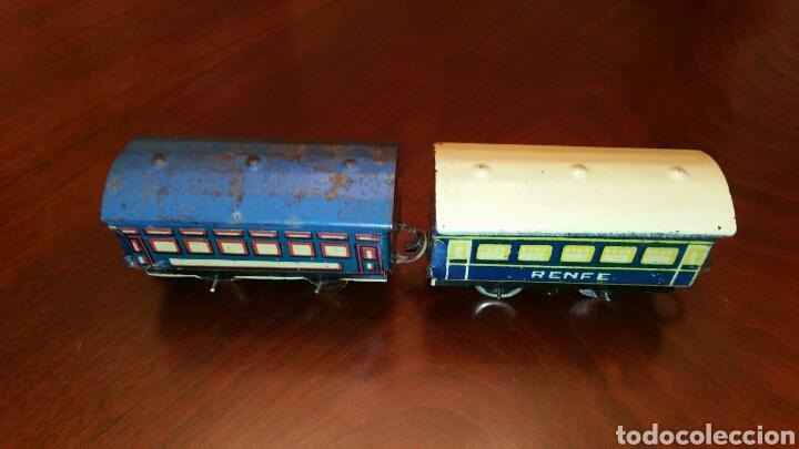 Trenes Escala: Antiguos Vagones Tren de Lata - Hojalata. - Foto 6 - 63696510