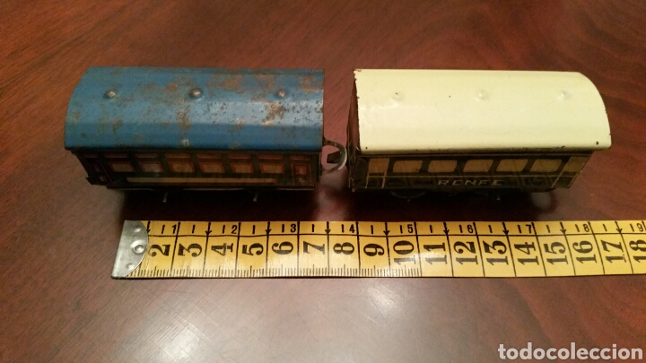 Trenes Escala: Antiguos Vagones Tren de Lata - Hojalata. - Foto 7 - 63696510