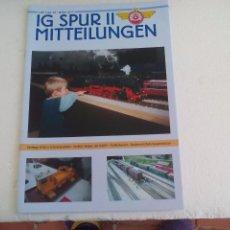 Trenes Escala: IG SPUR II, MITTEILUNGEN. NR 93. 2012. REVISTA MAQUETAS, TRENES TREN H0, MODELISMO. MAQUETA.. Lote 65428431