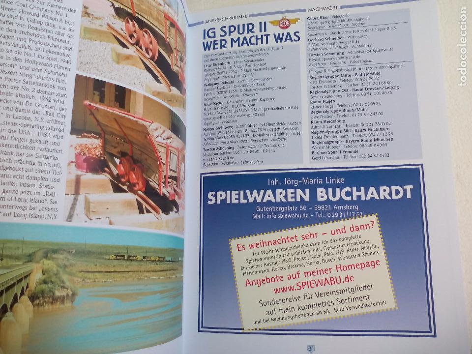 Trenes Escala: IG Spur II, MItteilungen. Nr 88. 2009. Revista Maquetas, trenes tren H0, modelismo. Maqueta. - Foto 6 - 65428555