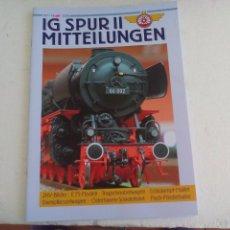 Trenes Escala: IG SPUR II, MITTEILUNGEN. NR 84. 2008. REVISTA MAQUETAS, TRENES TREN H0, MODELISMO. MAQUETA.. Lote 65429943