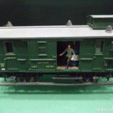 Trenes Escala: VAGON MZA EQUIPAJES Y CORREOS. Lote 66857430