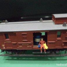 Trenes Escala: VAGON MZA EQUIPAJES Y CORREOS. Lote 66858174