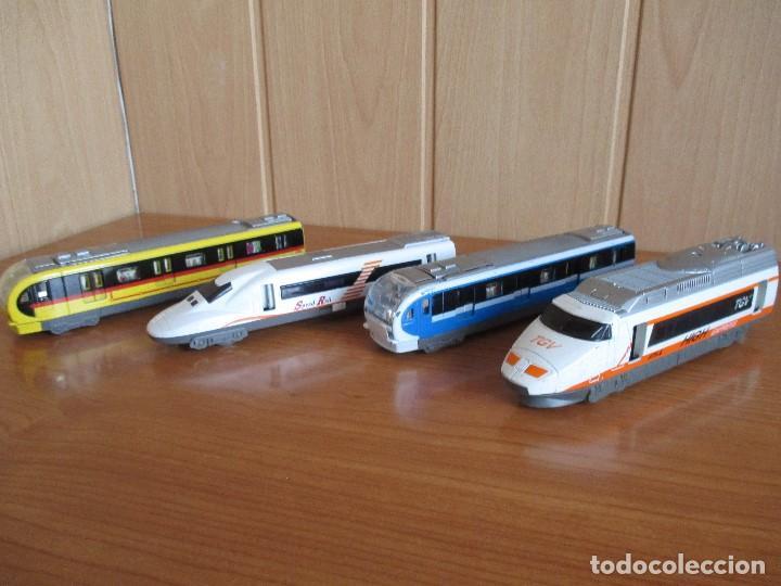 LOTE TRENES Y VAGONES (Juguetes - Trenes - Varios)