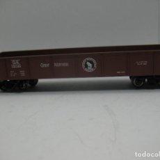 Trenes Escala: BACHMANN - VAGÓN DE MERCANCÍAS ABIERTO AMERICANO 75733 - ESCALA H0. Lote 70072273