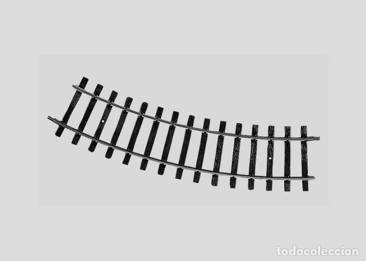 5922 VÍA CURVA ESCALA 1 (1:32) MÄRKLINRKLIN (Juguetes - Trenes - Varios)