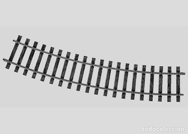 5935 VÍA CURVA ESCALA 1 (1:32 ) MÄRKLIN (Juguetes - Trenes - Varios)