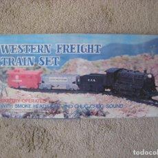 Trenes Escala: WESTERN FREIGHT TRAIN SET. Lote 72856375