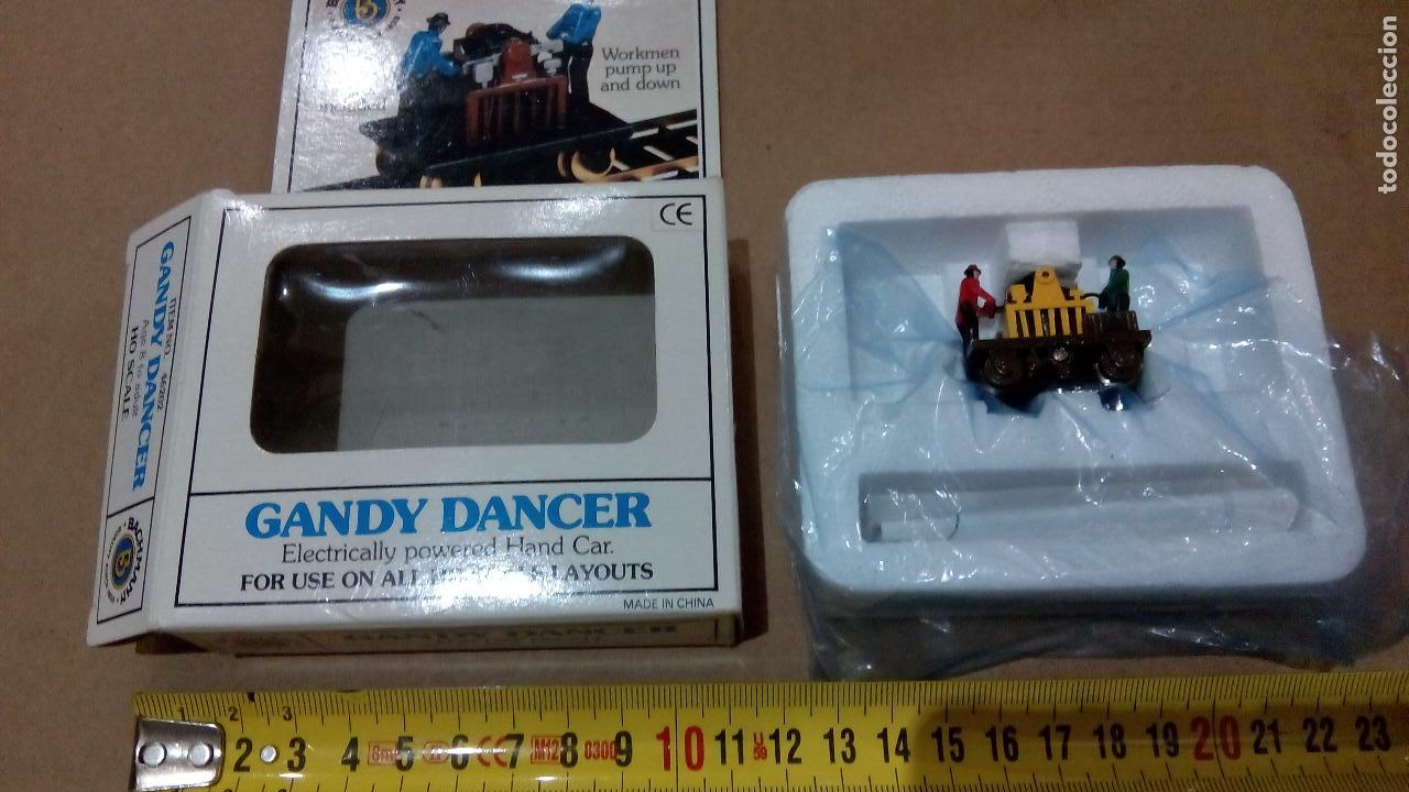 Bachmann, gandy dancer, workmen pump and down, - Sold