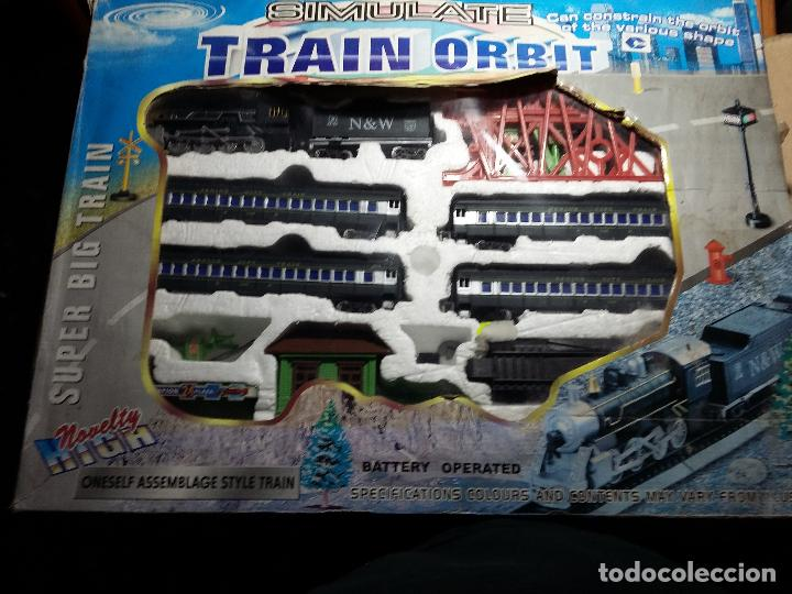 TREN SIMULATE TRAIN ORBIT (Juguetes - Trenes - Varios)