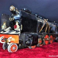 Trenes Escala: LOCOMOTORA TIPO PACIFIC. CON TENDER. ESPAÑA(?). METAL PINTADO. CIRCA 1900.. Lote 69588077