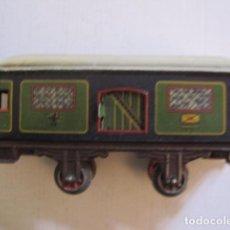 Trenes Escala: VAGON CORREO MUY ANTIGUO - LATA - VER FOTOS -(V-8788). Lote 75244791