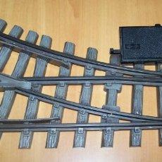 Trenes Escala: PLAYMOBIL - LGB. CAMBIO DE VÍAS MARCA LEHMANN. NO ES NUEVO. VER FOTOGRAFÍAS.. Lote 75249583