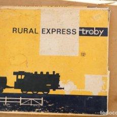 Trenes Escala: TREN RURAL EXPRESS TROBY, COMPLETO Y EN CAJA ORIGINAL. REF 200. Lote 75913523