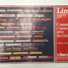Trenes Escala: TREN LIMA - ESCALA HO - CATÁLOGO 1977-78 - FRANCÉS . Lote 76523083