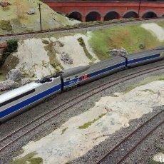 Trenes Escala: TREN TGV POS SNCF H0 DIGITAL NUEVO DE MEHANO. Lote 77471849