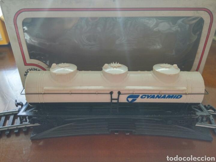 CISTERNA TREN BACHMANN H0 5 (Juguetes - Trenes Escala H0 - Otros Trenes Escala H0)