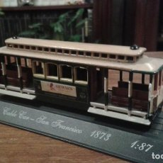 Trenes Escala: CABLE CAR - SAN FRANCISCO 1873. Lote 80052113
