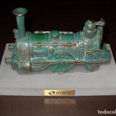 Trenes Escala: ESCULTURA LOCOMOTORA,RENFE.. Lote 80400961
