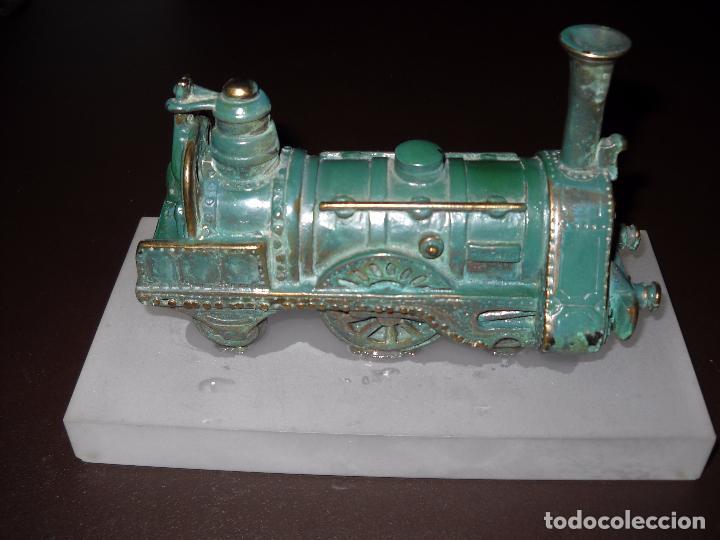 Trenes Escala: Escultura locomotora,Renfe. - Foto 2 - 80400961