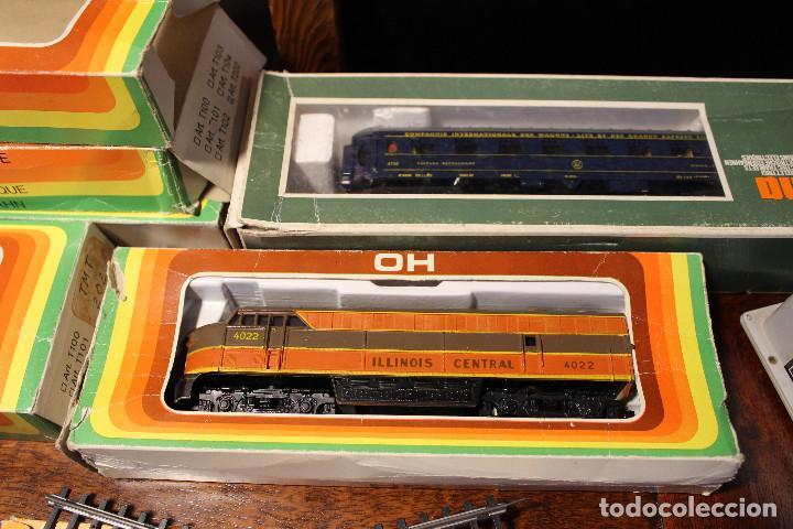 Trenes Escala: Enorme lote de trenes, vagones, vias catalogos escala h0 tren locomotora via maquina catalogo - Foto 8 - 81509088