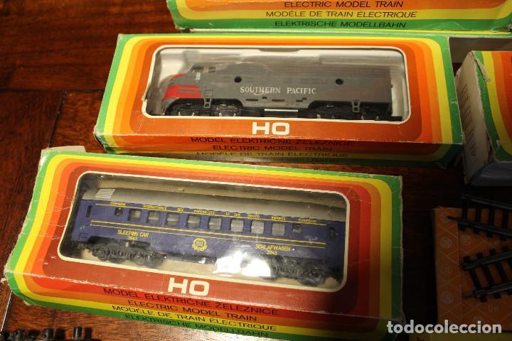 Trenes Escala: Enorme lote de trenes, vagones, vias catalogos escala h0 tren locomotora via maquina catalogo - Foto 9 - 81509088