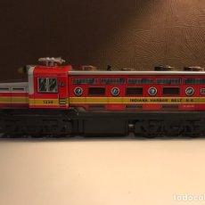 Trenes Escala: LOCOMOTORA JUGUETE AÑOS 70/80 JUGUETES EGE. Lote 83860418