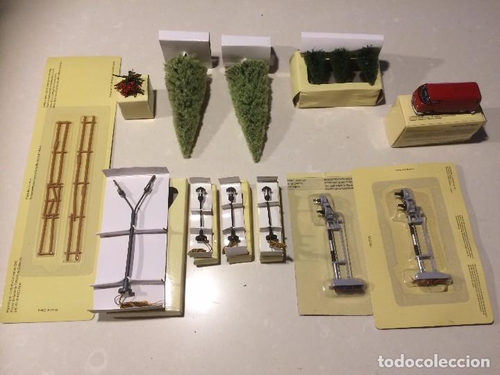 diversos elementos para decoracin maqueta ho h juguetes trenes escala h otros trenes