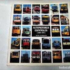 Trenes Escala: AUTOMOTORES ESPAÑOLES DE JAVIER ARANGUREN. Lote 84578272