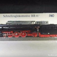 Trenes Escala: LOCOMOTORA DE VAPOR BR 01/5 DB PIKO 5/6320 CORRIENTE CONTINUA ESCALA H0. Lote 87252948