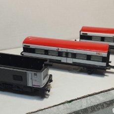 Trenes Escala: TREN ANTIGUO ELÉCTRICO A PILAS MADE IN SPAIN. Lote 88204298