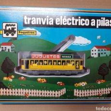 Trenes Escala: PEQUETREN TRANVIA NUEVO A ESTRENAR. Lote 88346795